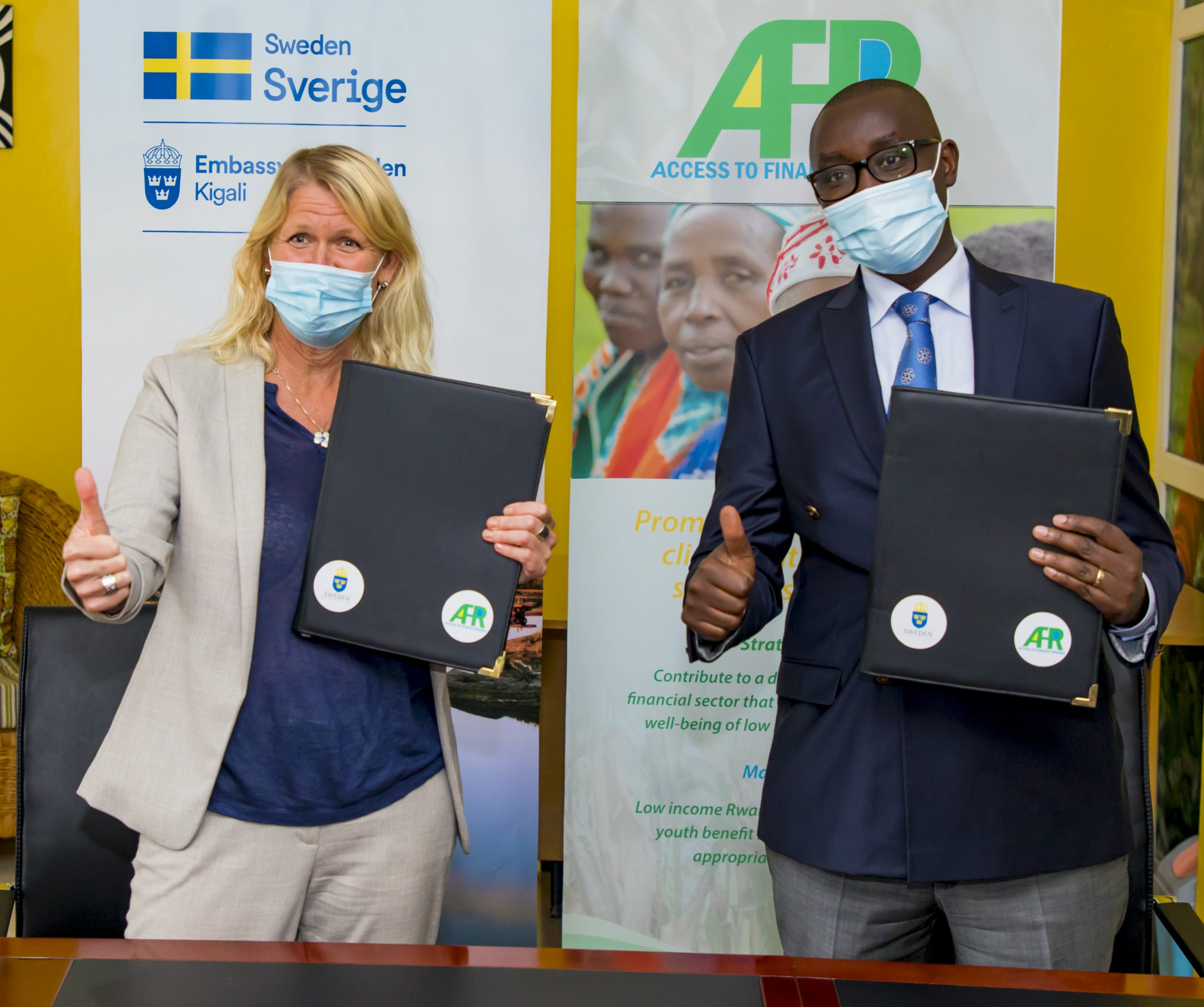 Access to Finance Rwanda signs a $6.7 M grant agreement with the Swedish International Development Cooperation Agency to deepen financial inclusion and support economic transformation in Rwanda