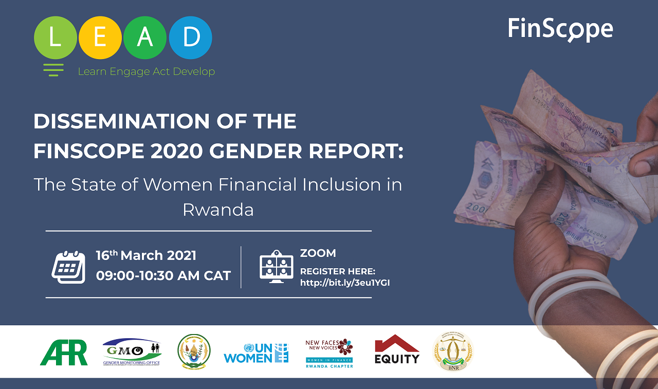 AFR LEAD Series: Dissemination of the Finscope 2020 Gender Thematic Report