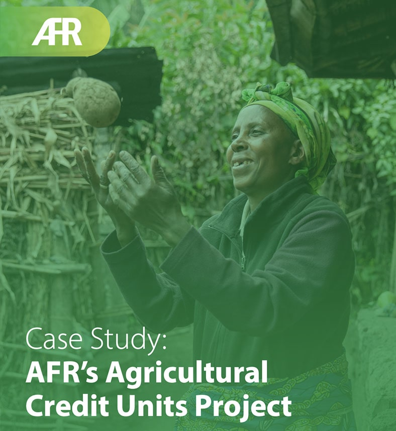 Case Study: AFR's Agricultural Credit Units Project